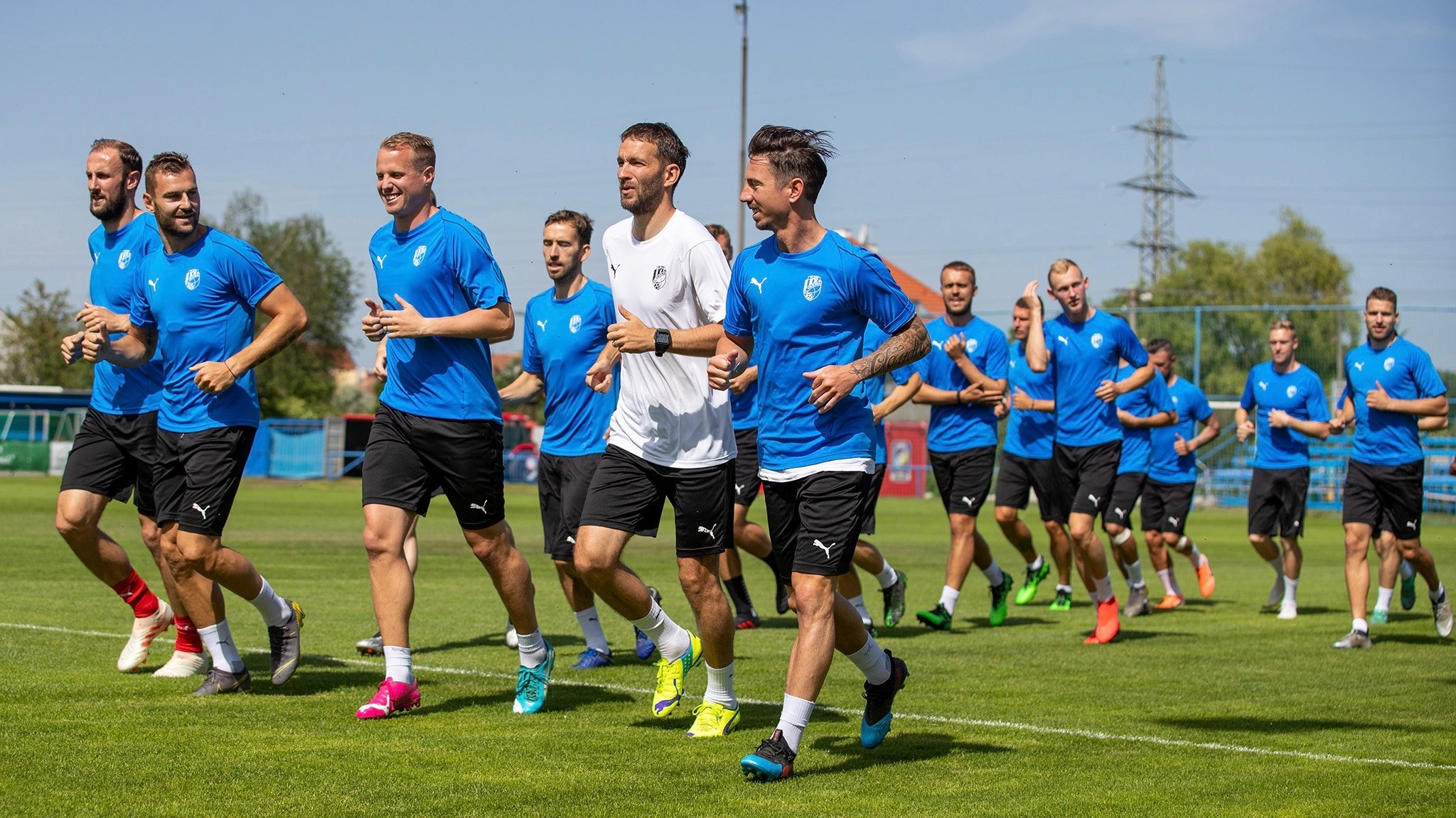 Viktoria gathered for the first training before 2019/2020 season