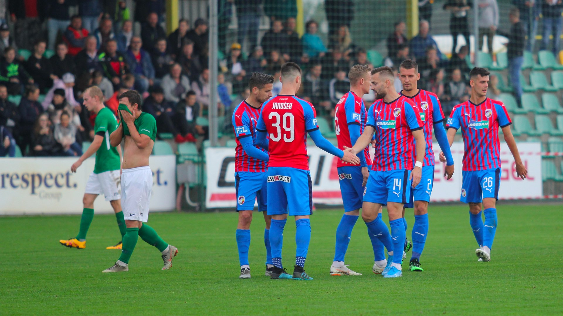 MOL Cup: Viktoria edge Hlučín out 3-1