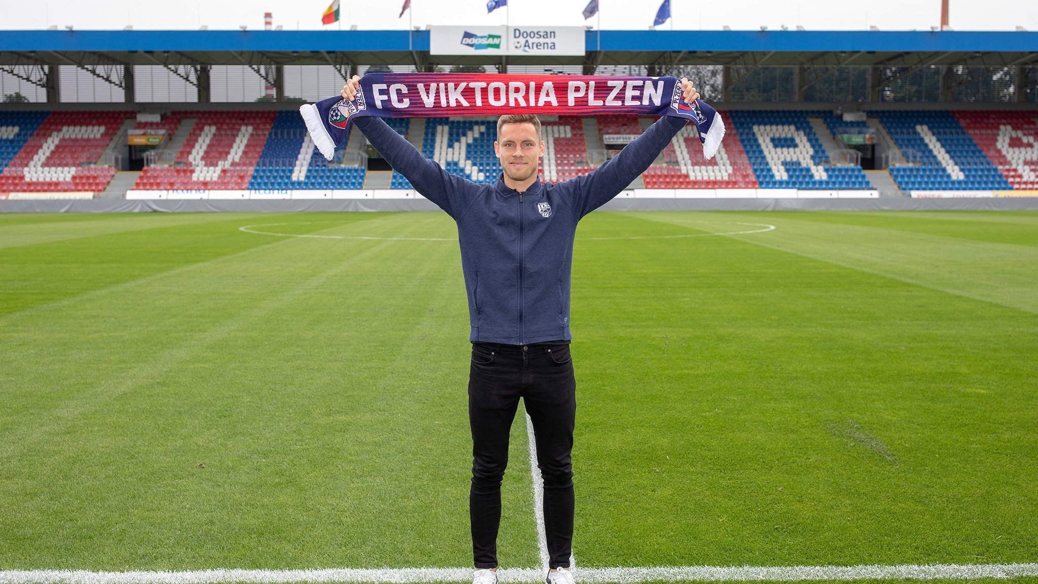 Viktoria has announced a new signing from Olomouc – Lukáš Kalvach