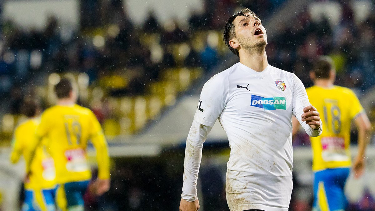 High activity was not enough to seize points in Teplice as Viktoria falls 2-1