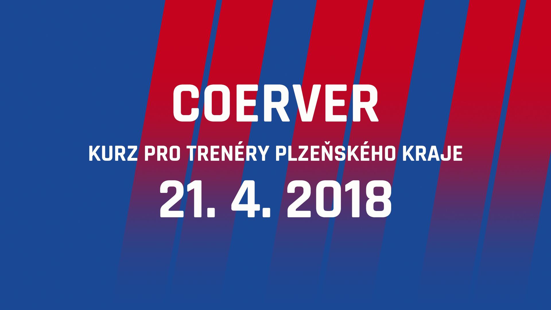 Coerver coaching pořádá ve spolupráci s Viktorií kurz pro trenéry z Plzeňského kraje