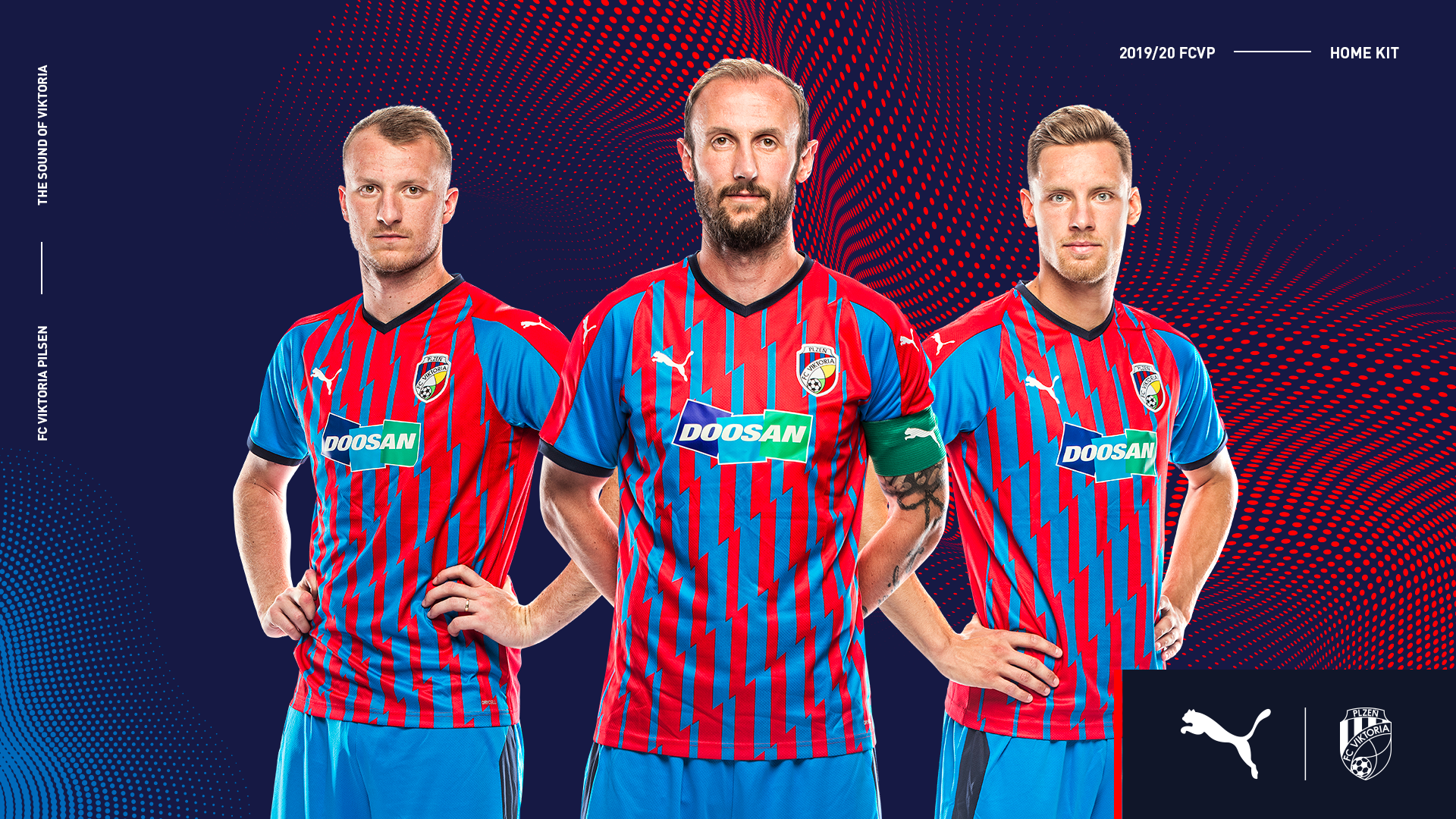 Boosted by new energy. Viktoria Plzeň introduce new kits for 2019/2020 season