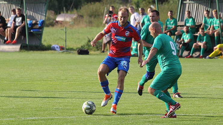 Viktorians varied the national team break and played a friendly against Kozolupy