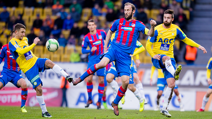​Viktoria Plzeň bring 1 point for a goalless tie from Teplice