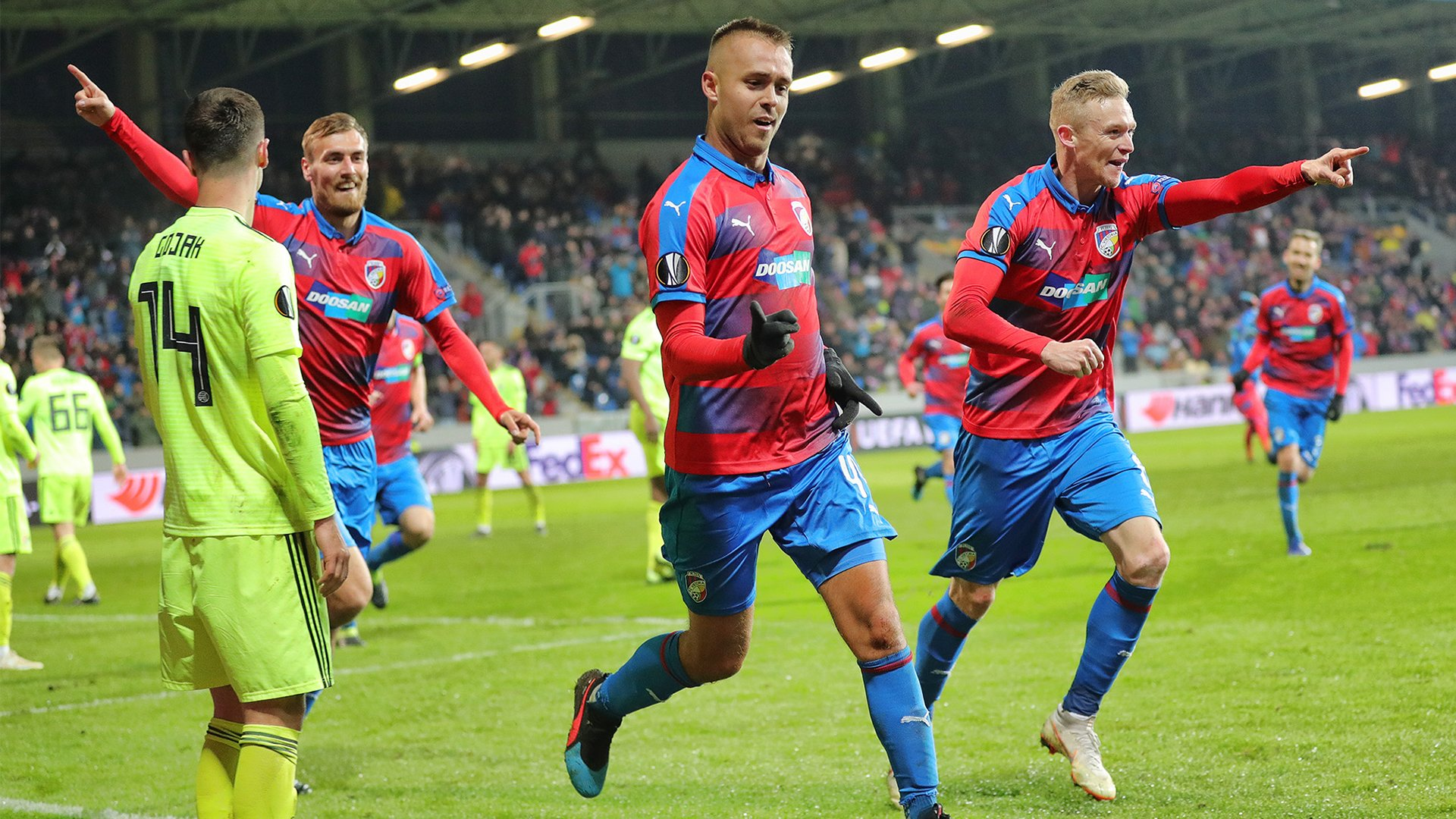 Pernica's night! Defender turned the match against Dinamo Zagreb on Viktoria's side by two goals