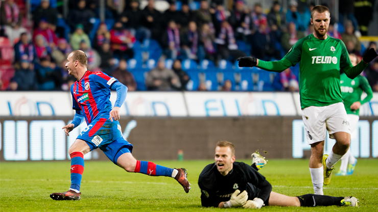 ​Viktoria finished the autumn part by a victory over Jablonec 2-0