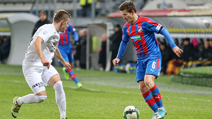 ​Viktoria Plzeň were edged out of the MOL Cup by Slovácko
