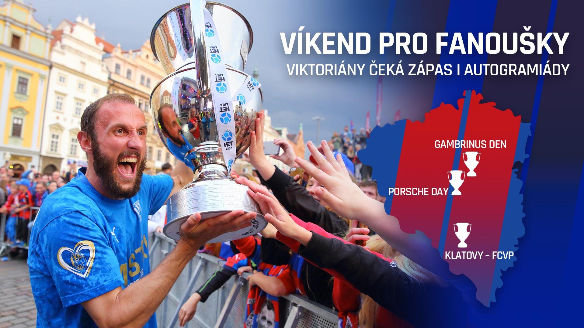 Viktoriány čeká nabitý víkend, kromě zápasu a tréninků také autogramiády!