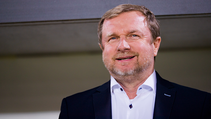 ​Our 1st half turned out well, Pavel Vrba says after the match in Zlín