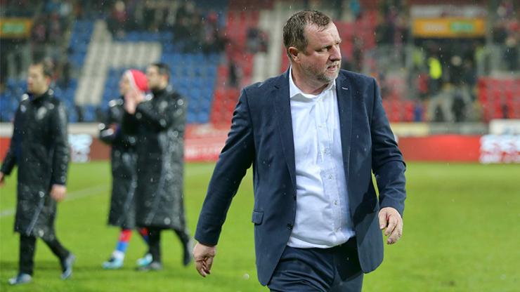 Pavel Vrba: Slovácko proti nám v poháru hrálo dobře, bude to chtít zopakovat