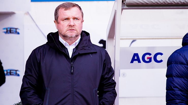 ​We were lacking calm and luck in the final phase, Pavel Vrba says after the match