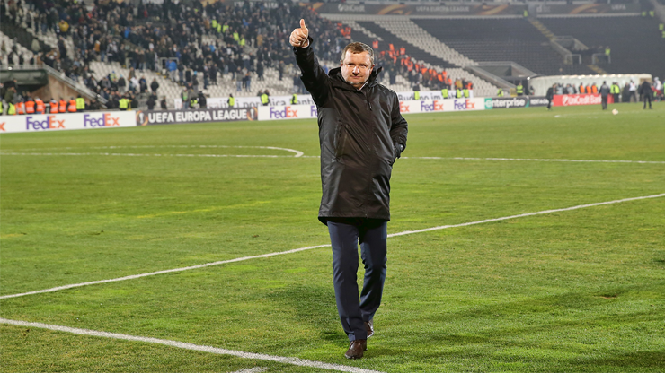 ​Pavel Vrba: It´s typical after a midseason break, I´m satisfied with the 2nd half